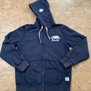 Roots French Terry Full Zip Hoodie
